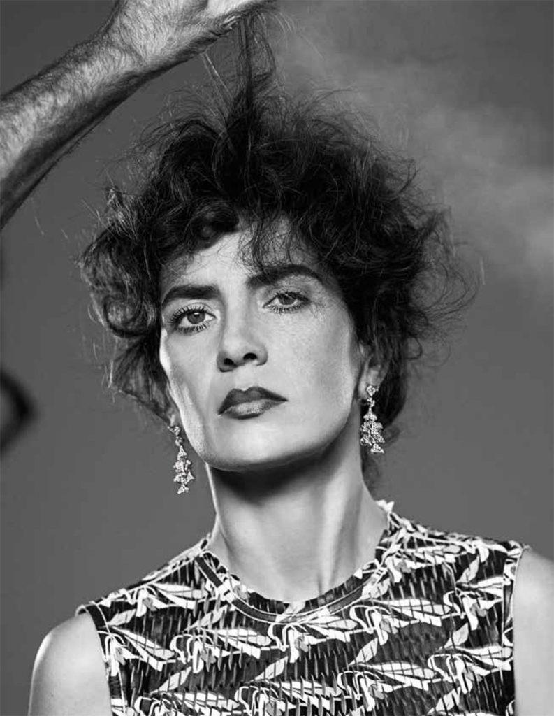 Maya sansa hair Stefano Gatti make-up Sissy Belloglio celebrities
