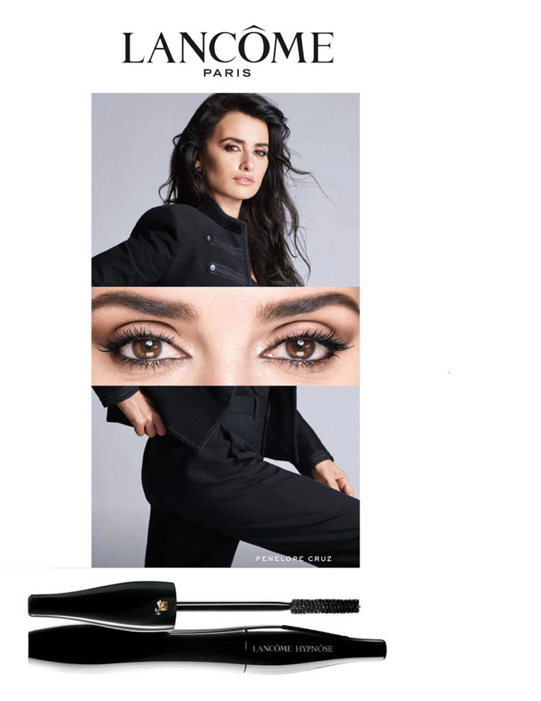 Penelope Cruz for Lancome photographer Nico Bustos Styling Enrique Campos