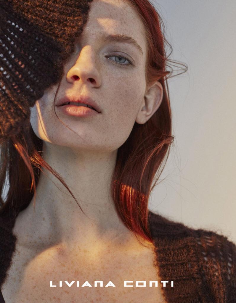 Liviana Conti make-up Augusto Picerni hair Marco Minunno adv