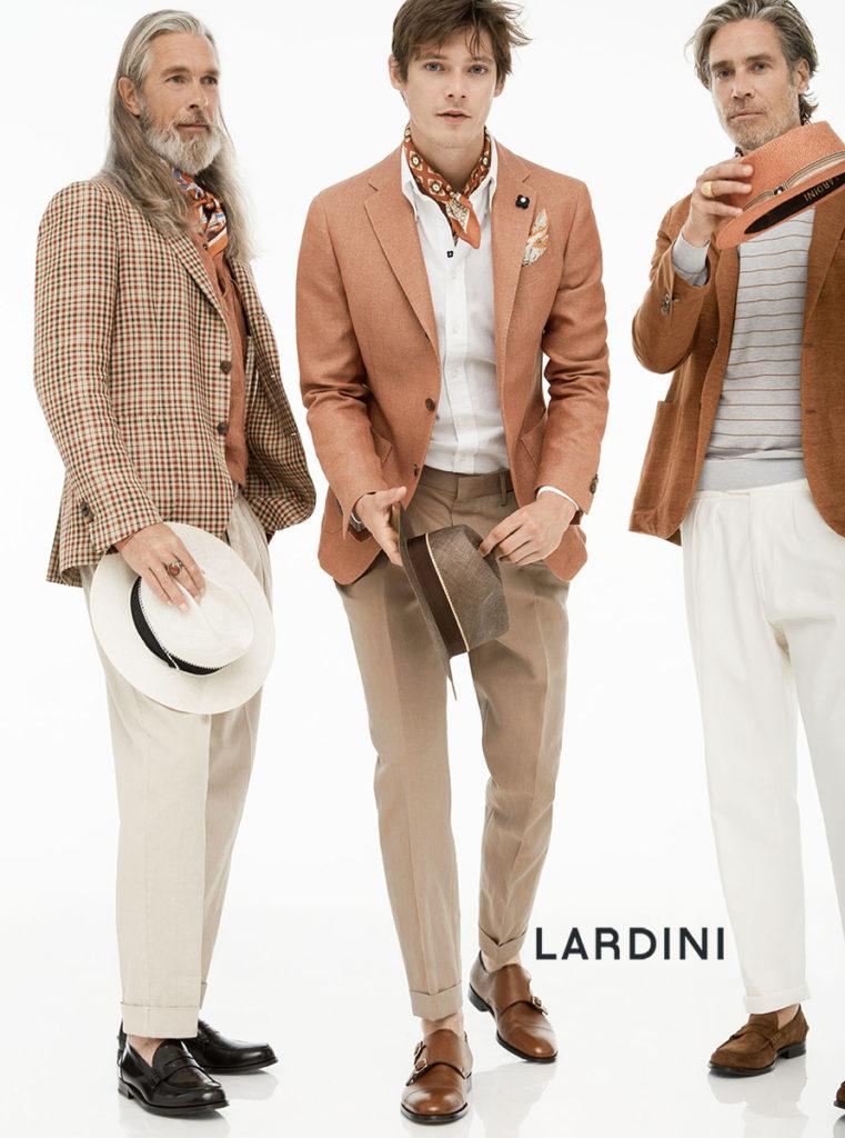 Lardini hair Luca Lazzaro adv video man