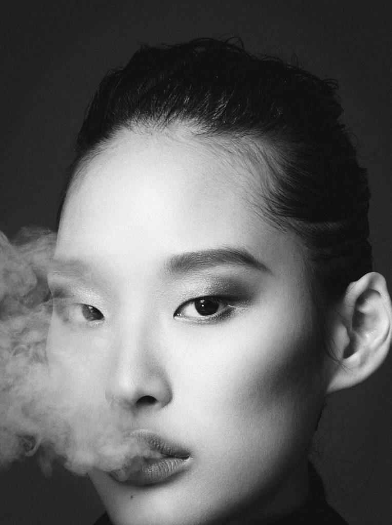 Glamour photographer Christian Oita make-up Augusto Picerni