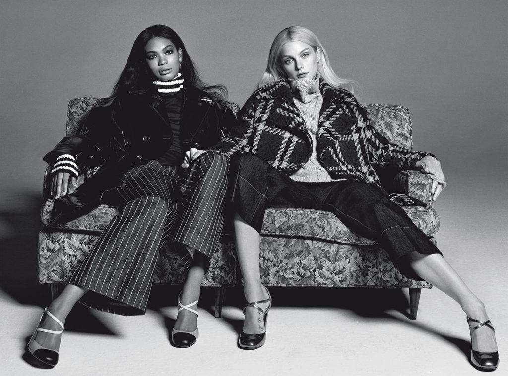Vogue Italia Photo by Michel Comte stylist Giulio Martinelli Jessica Stam