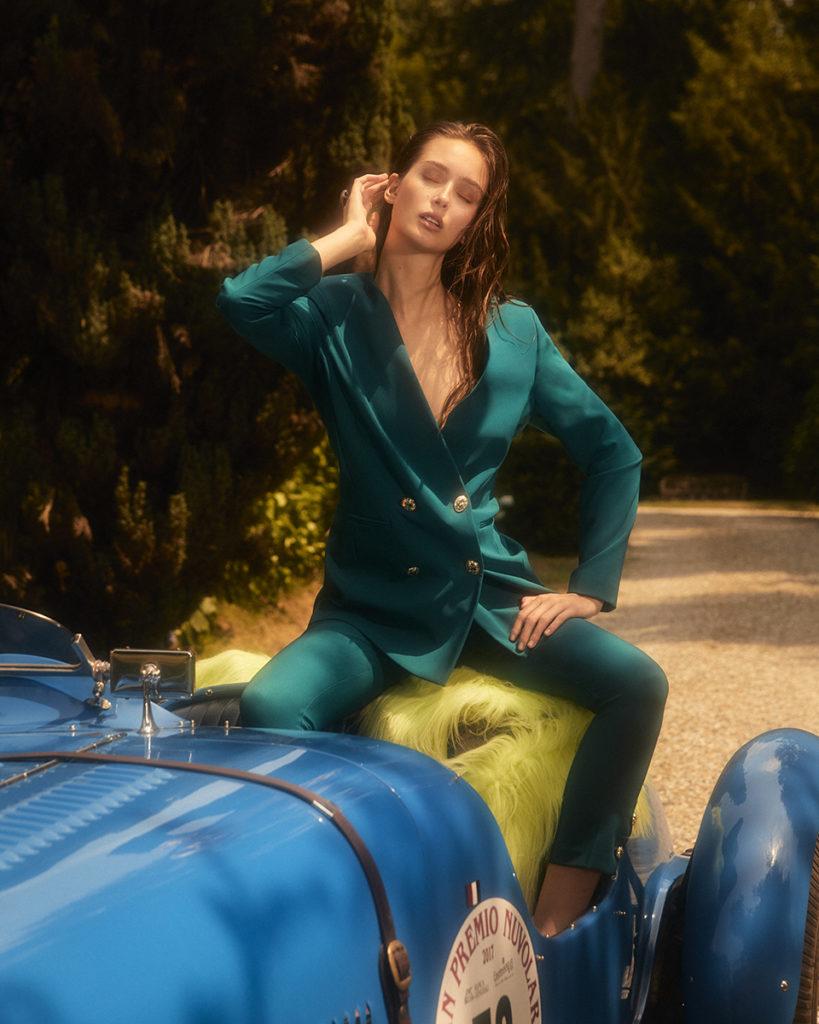 Glamour photographer Marcello Arena make-up Augusto Picerni