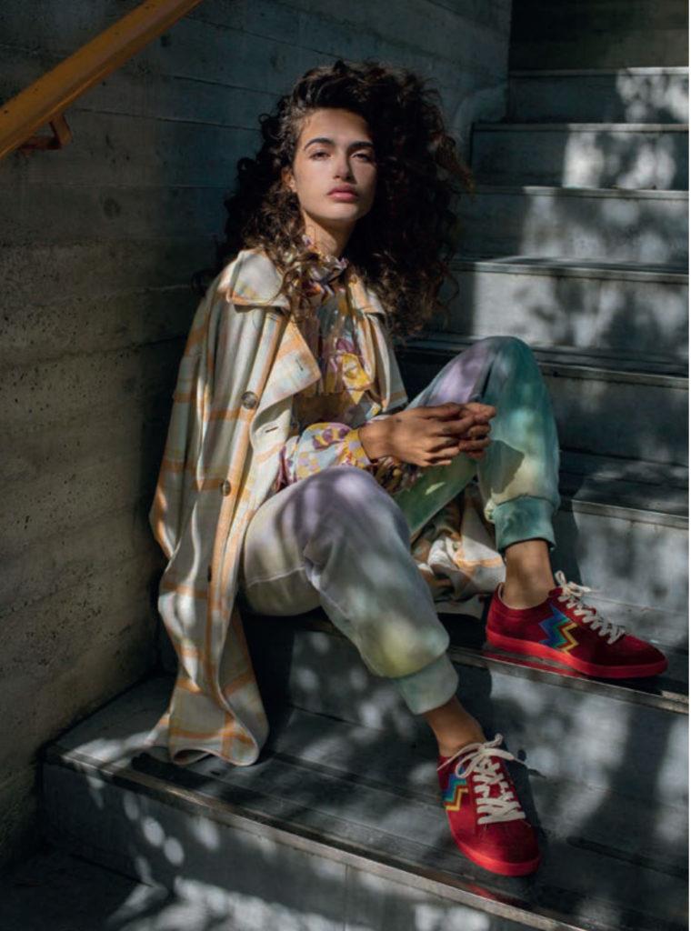 Vogue Spain photographer Iris Humm make-up Augusto Picerni hair Davide Diodovich Chiara Scelsi