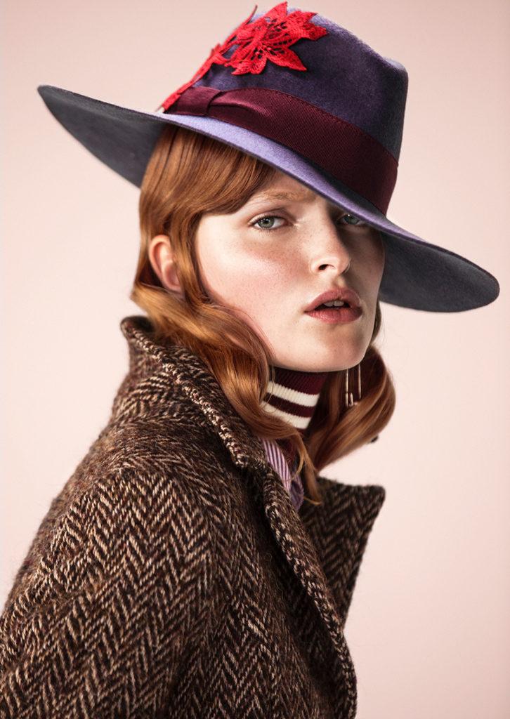 Vanity fair hair Stefano Gatti styling Cleo Casini woman editorial