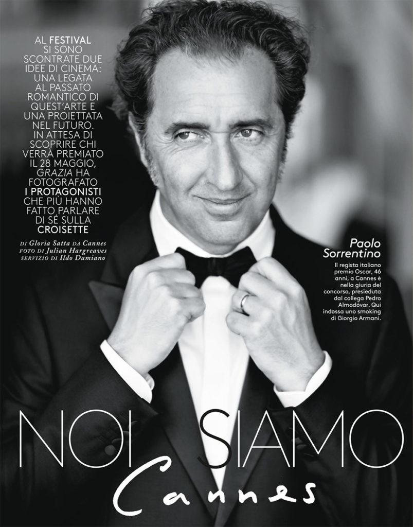 Paolo Sorrentino stylist Ildo Damiano