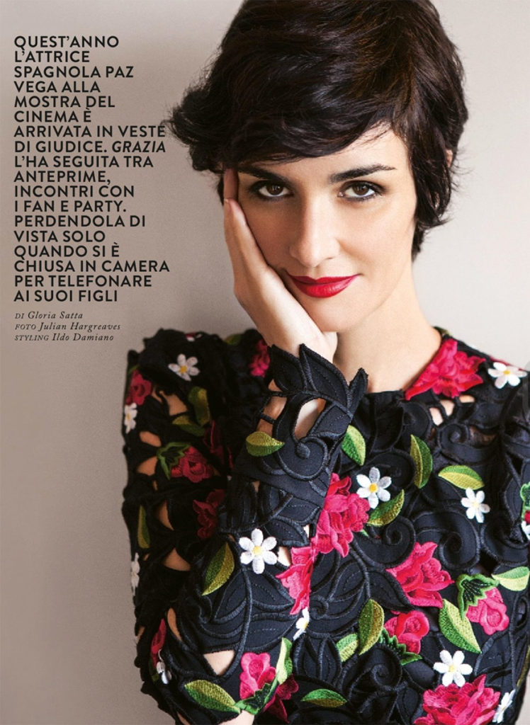 Paz Vega stylist Ildo Damiano