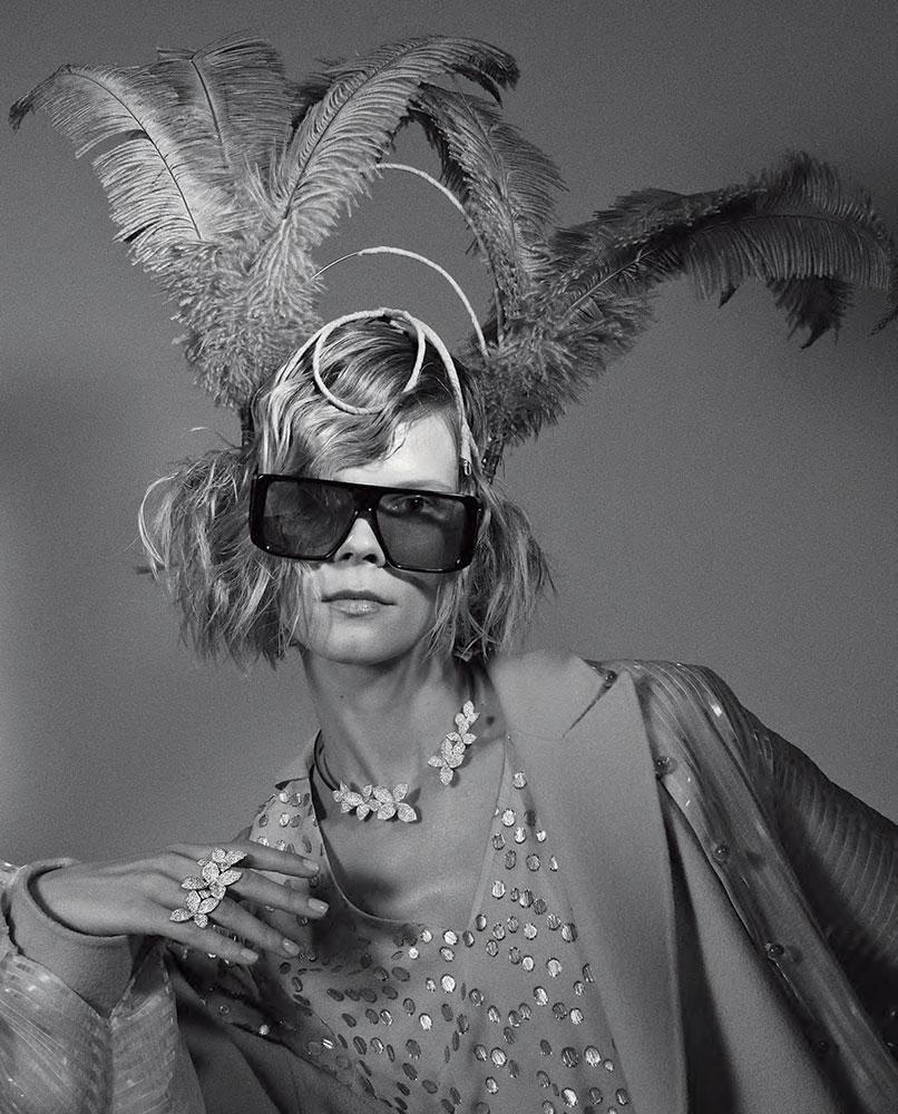 Vanity fair italia hair Stefano Gatti make-up Sissy Belloglio man woman editorial