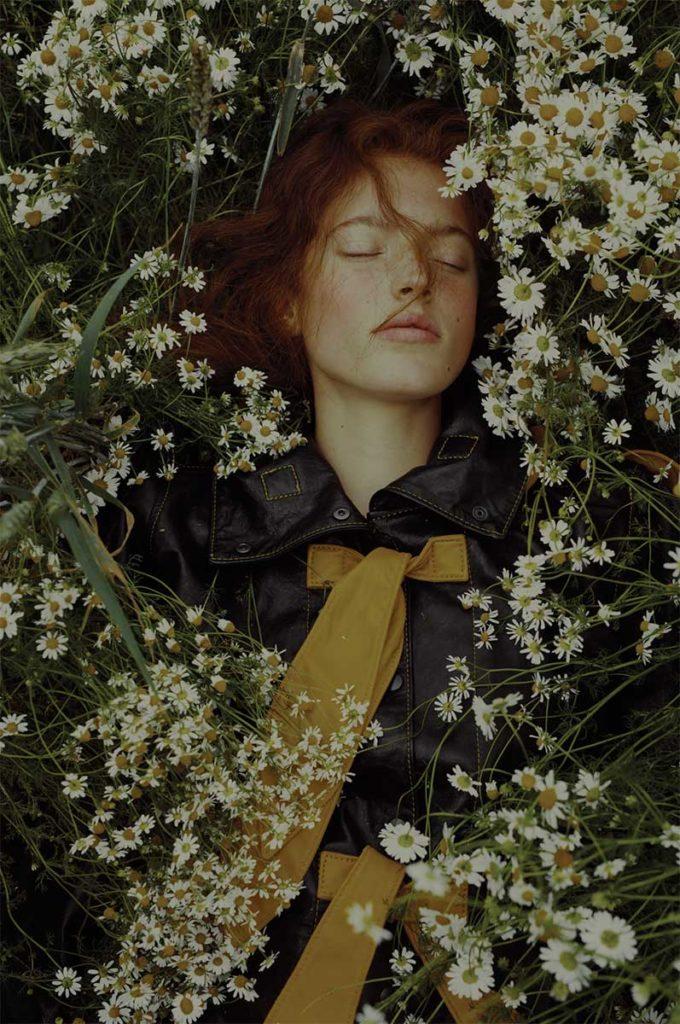 Schon Magazine photographer Marta Bevacqua make-up Hugo Villard