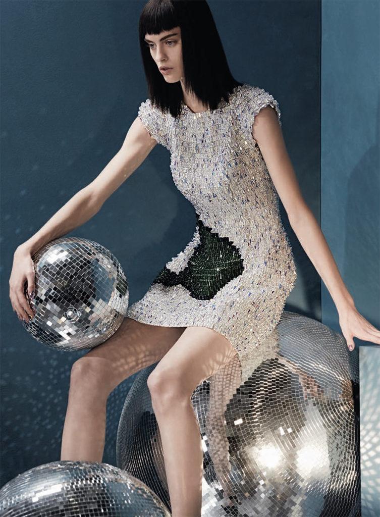Vogue Italia Photo by Lucian Bor stylist Giulio Martinelli