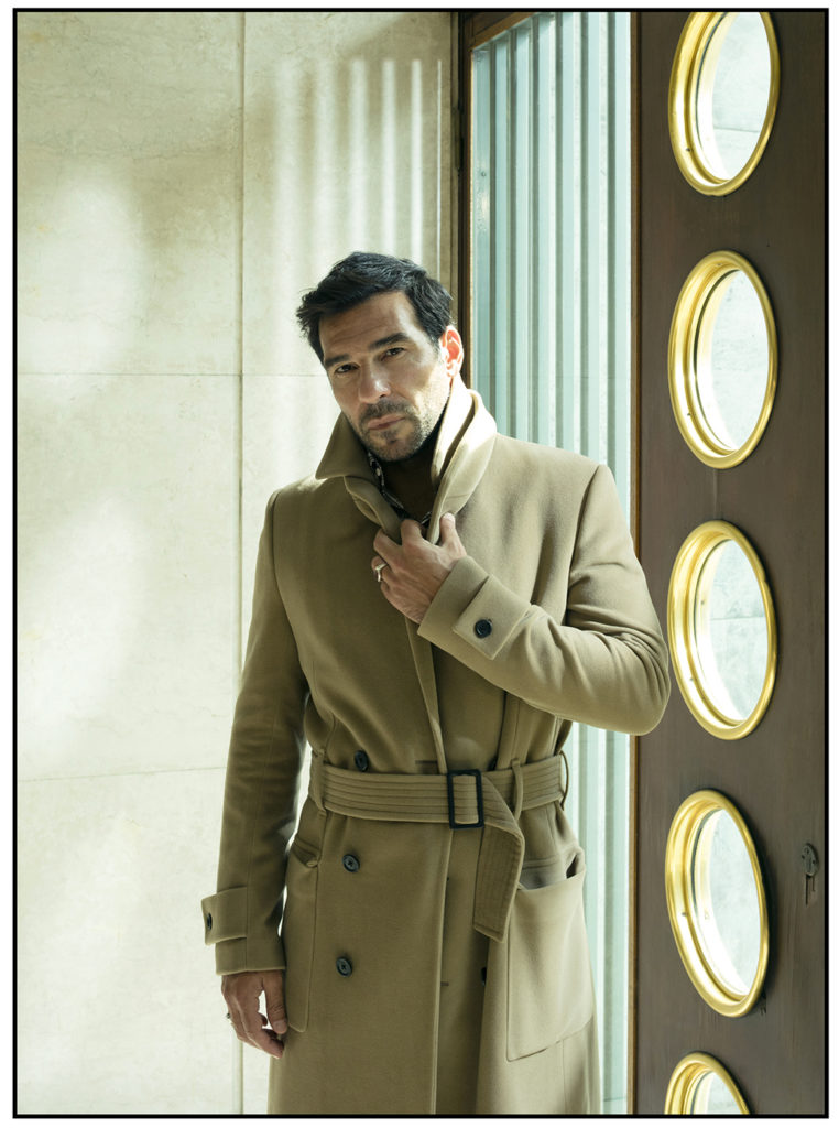 Style magazine italia Edoardo Leo hair Francesco Avolio celebrities editorial man