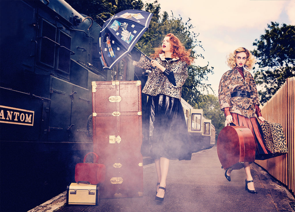 Vogue Italia - Photo by Ellen Von Unwerth stylist Giulio Martinelli
