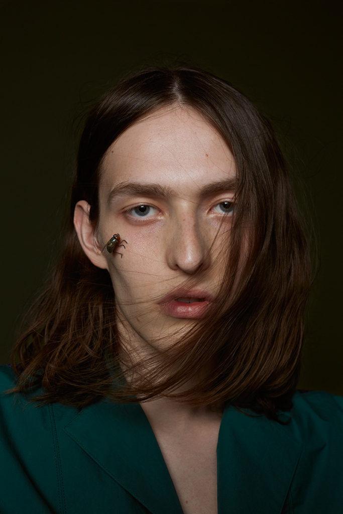 Gq Portugal photographer Lea Wormsbach make-up Hugo Villard