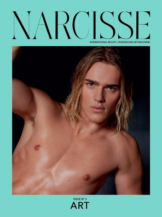 Narcisse make-up Hugo Villard Ton Heukels