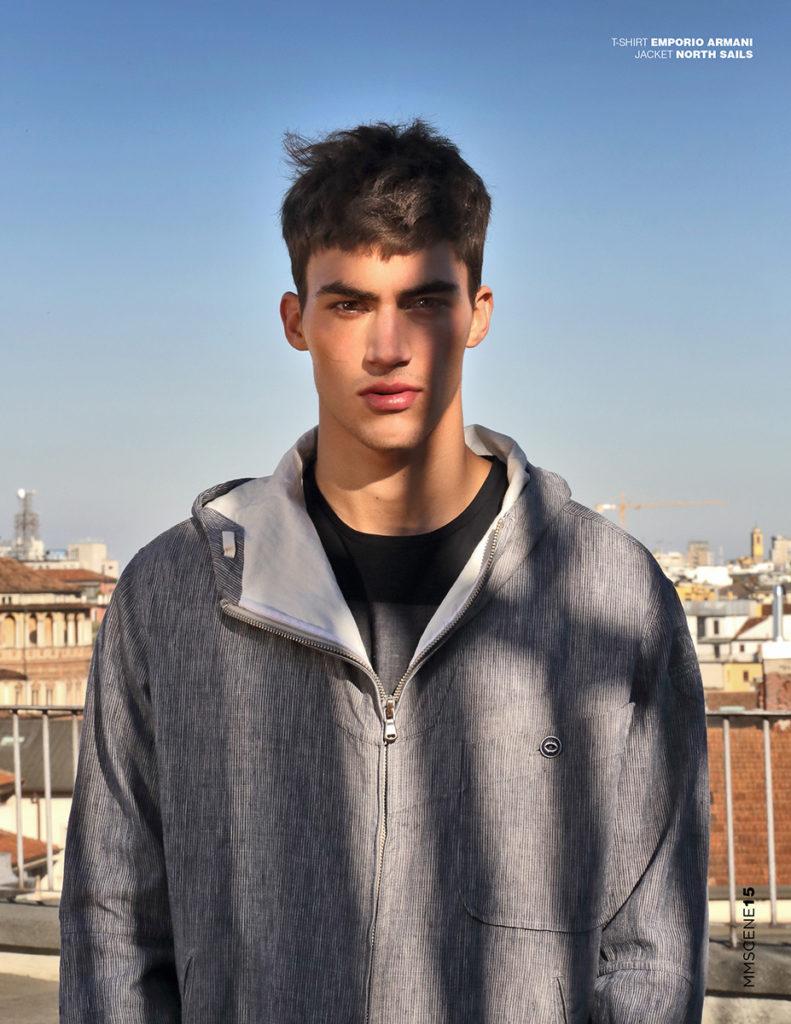 mmscene hair Stefano Gatti editorial men