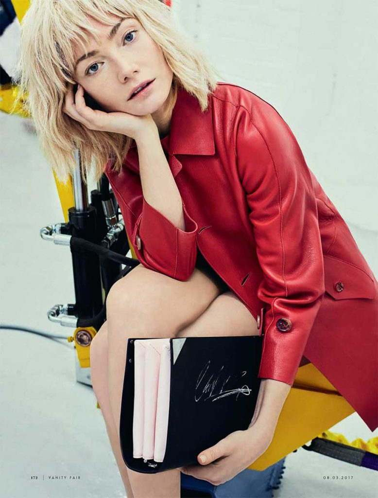 Clara Paget Vanity fair Styling Cleo Casini Sergi Pons