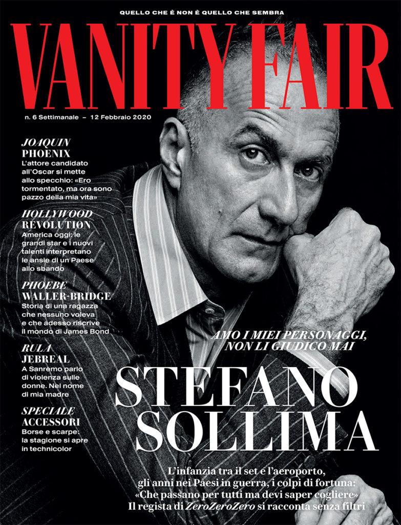 Vanity Fair Stefano Sollima hair Stefano Gatti man celebrities