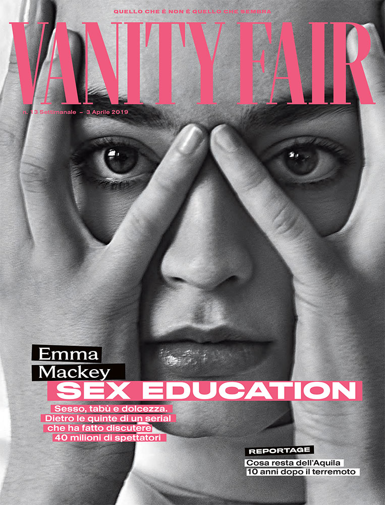 Vanity Fair hair Luca Lazzaro manicure Carlotta Saettone woman editorial cover
