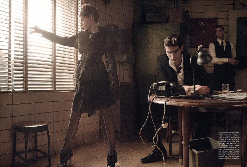 Vogue Italia Amber Heard Stylist Giulio Martinelli