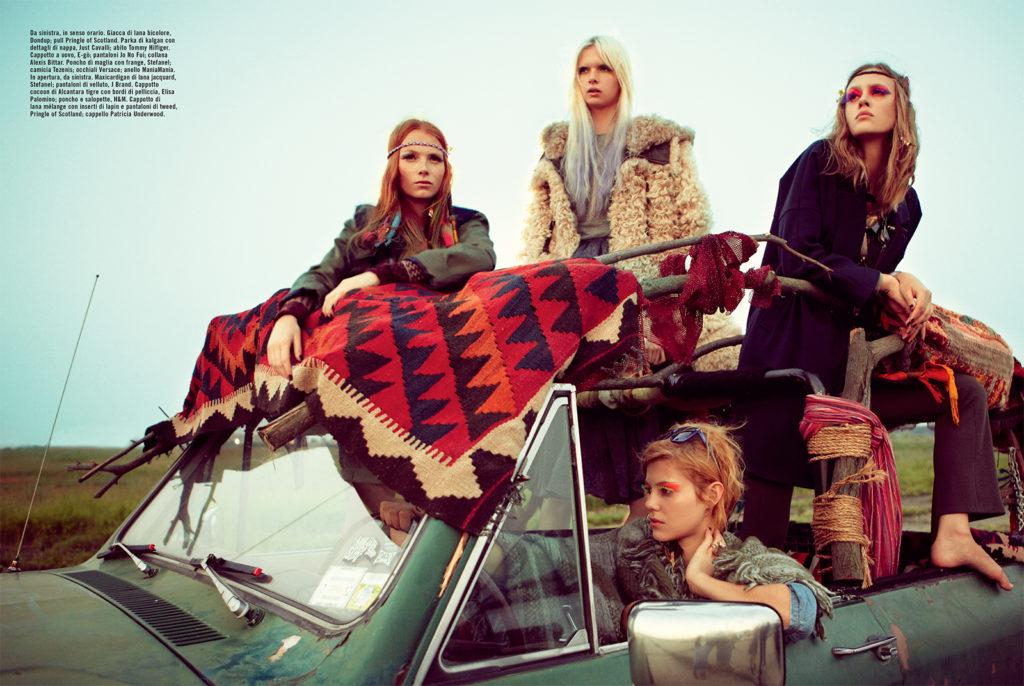 Vogue Italia Photo by KT Auleta stylist Giulio Martinelli