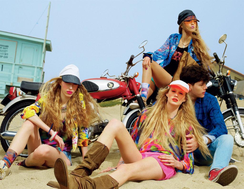 Vogue Italia Photographer KT Auleta Stylist Giulio Martinelli