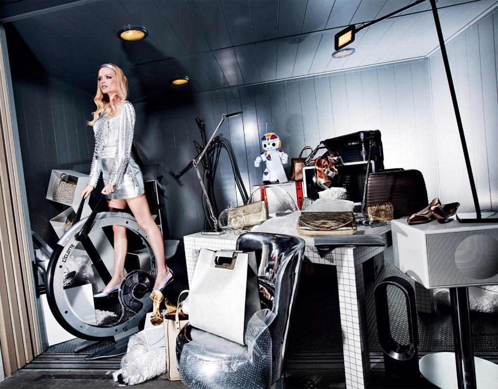 Vogue Italia Photo by Steve Hiett stylist Giulio Martinelli