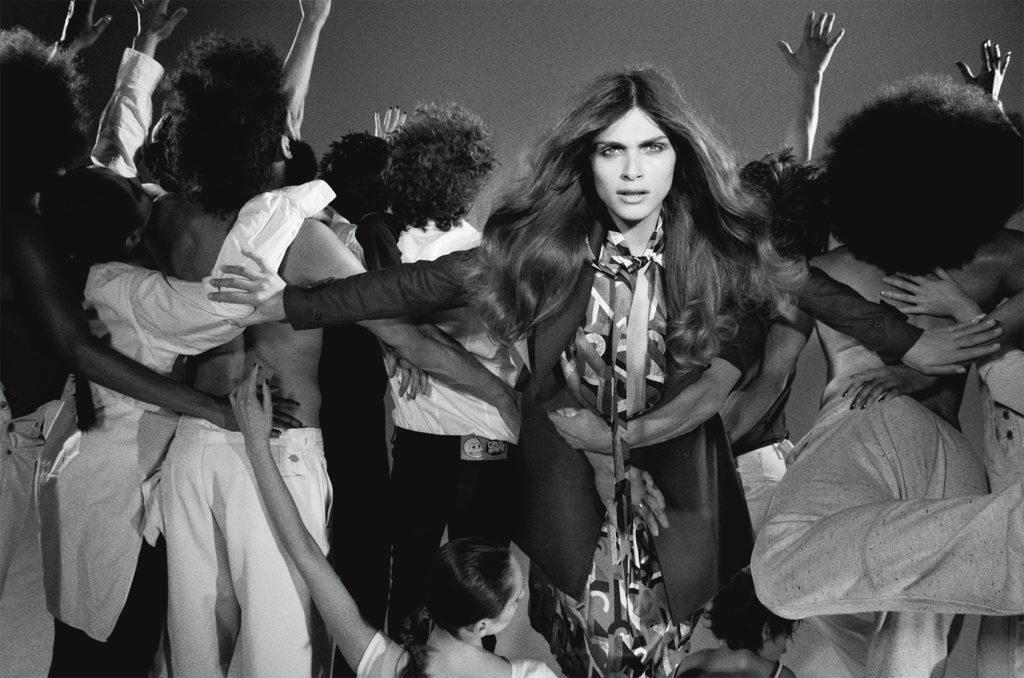 Vogue Italia Photo by Stephane Sedneoui stylist Giulio Martinelli Elisa Sednaoui cover