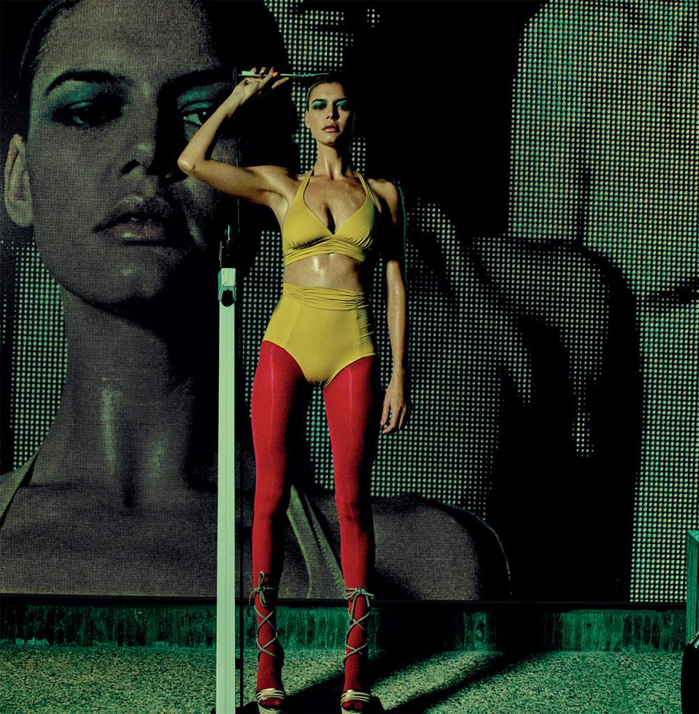 Vogue Italia Photographer Michel Comte Stylist Giulio Martinelli