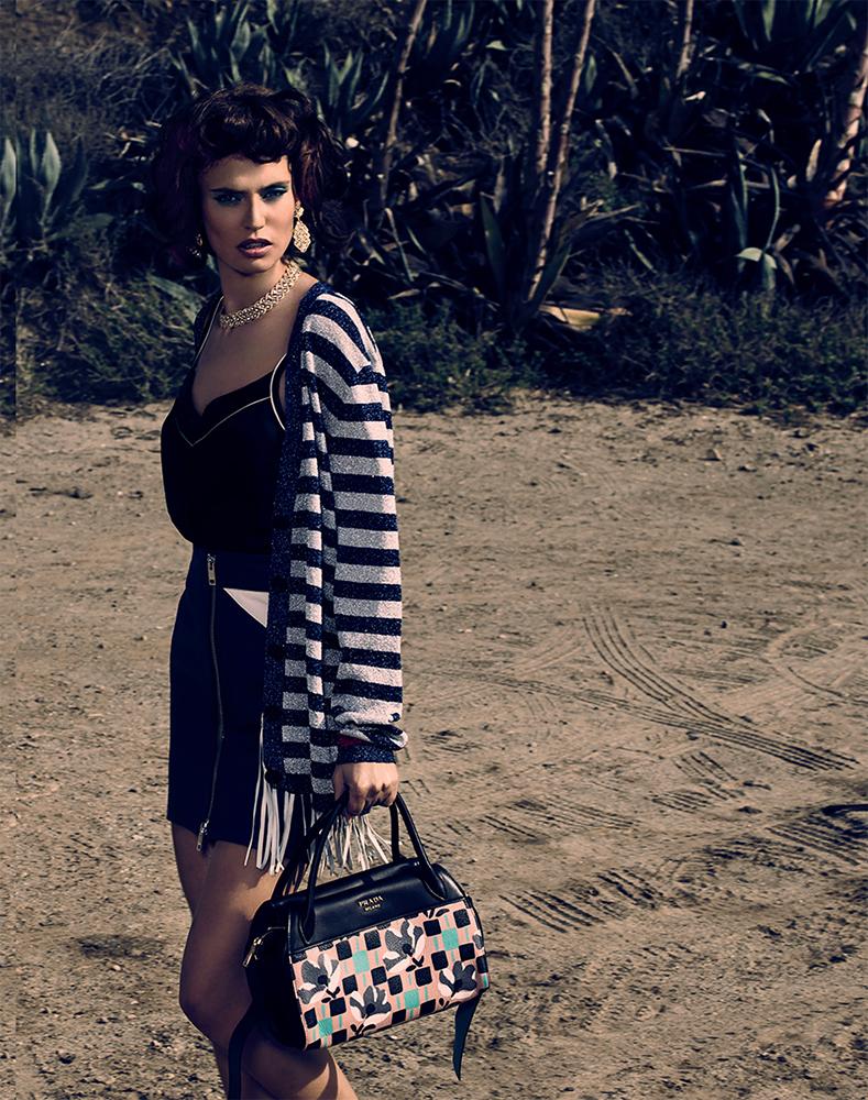 Vogue Italia Photo by Michel Comte stylist Giulio Martinelli
