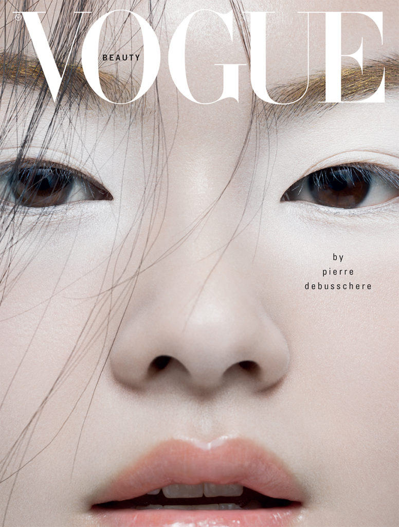 Vogue Italia Beauty Photo By Pierre Debusschere stylist giulio martinelli