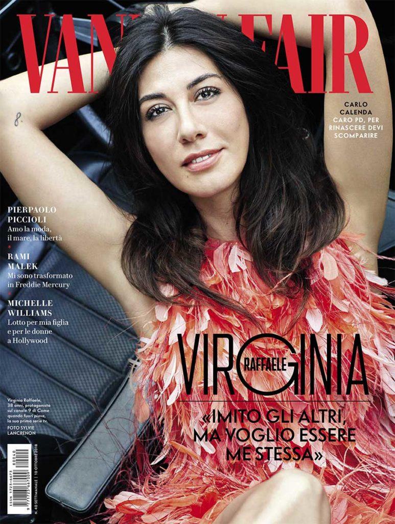 Vanity Fair hair Luca Lazzaro woman cover