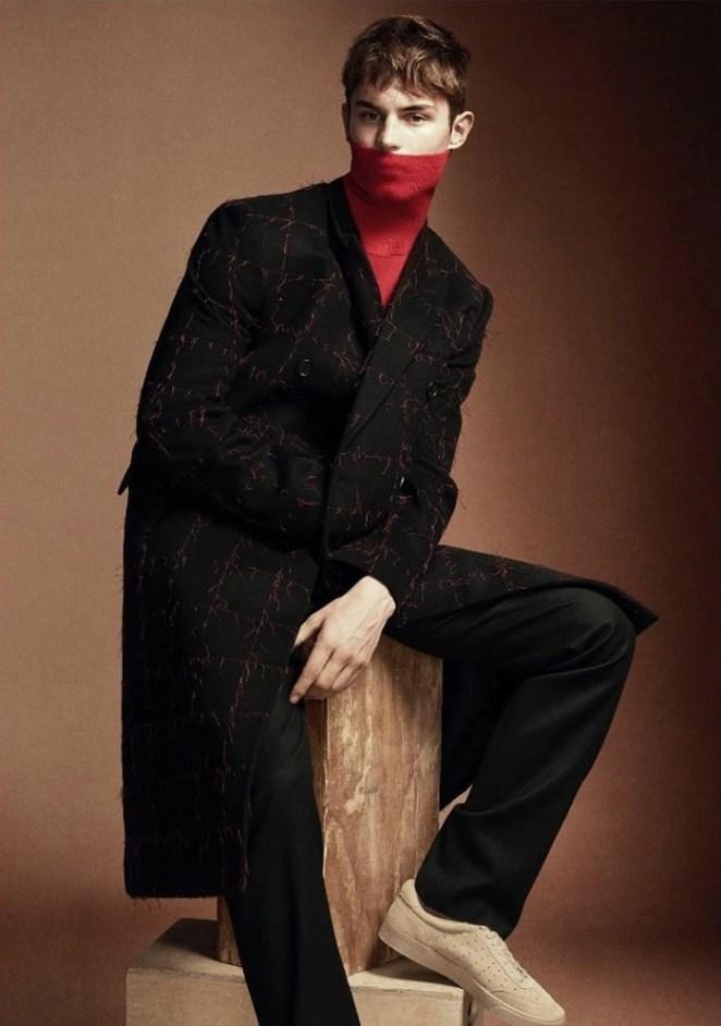 Wool magazine photographer Paul Scala make-up Hugo Villard Kit Butler