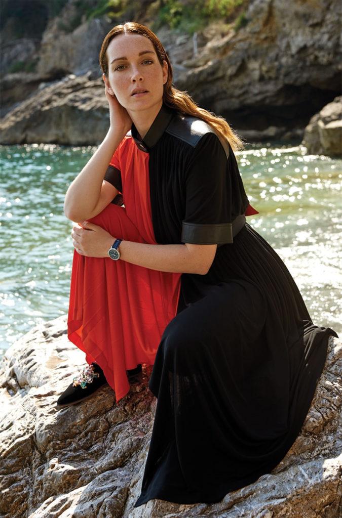 Cristiana Capotondi hair Luca Lazzaro celebrities woman
