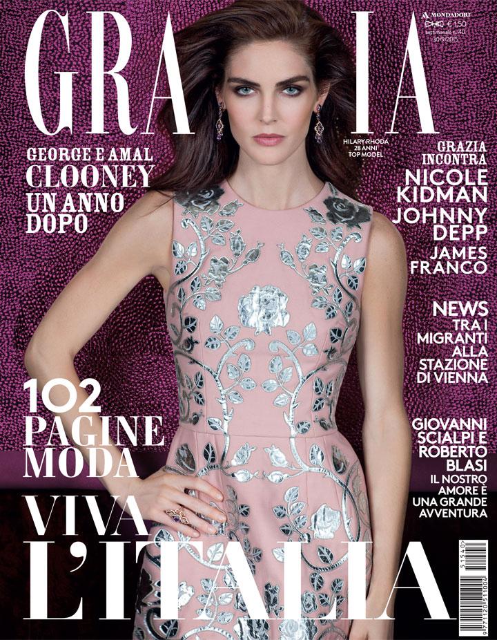 Grazia Italia Stylist Ildo Damiano cover