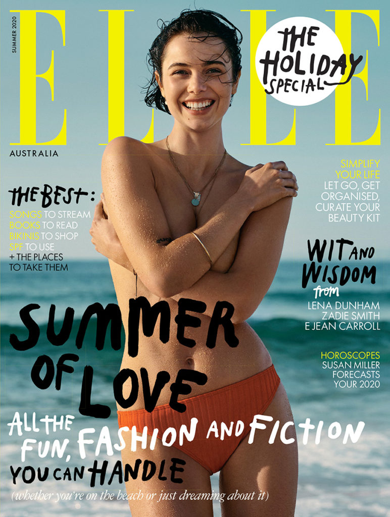Elle Au hair Rory Rice cover woman editorial