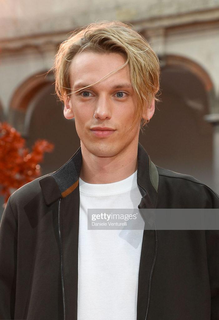 Jamie Campbell Bower hair Luca Lazzaro celebrities man