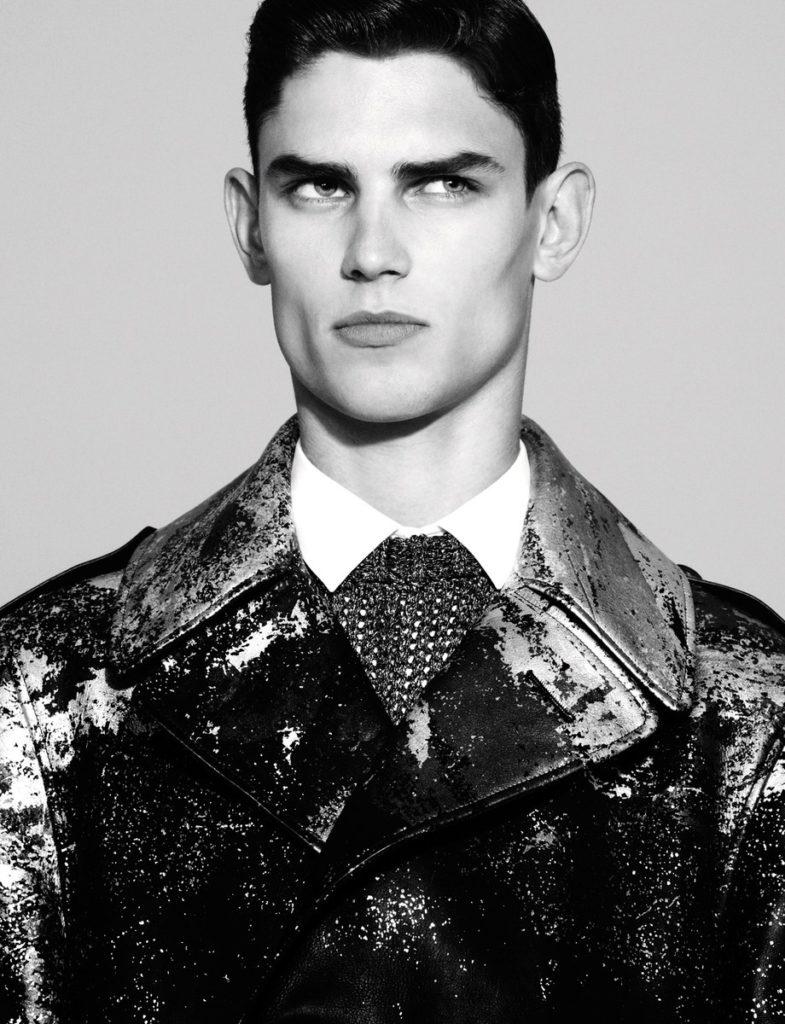 Numerò homme photographer Matthew Brookes make-up Hugo Villard