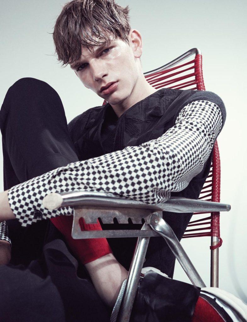 10 magazine photographer Alessio Bolzoni make-up Hugo Villard