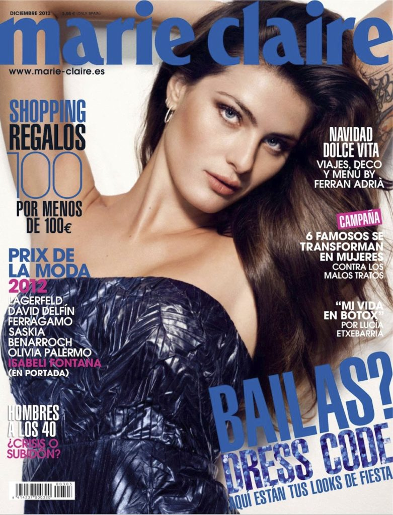 Marie Claire Spain Isabeli Fontana Styling Enrique Campos