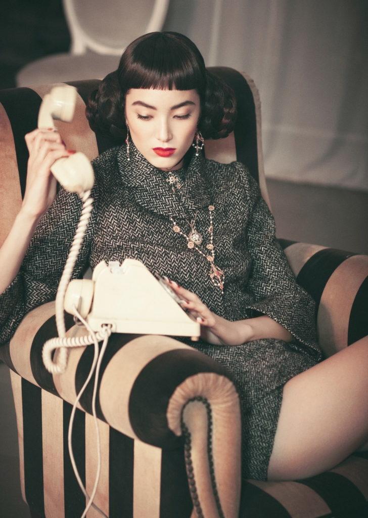 Vogue Italia Photo by Serge Leblon stylist Giulio Martinelli