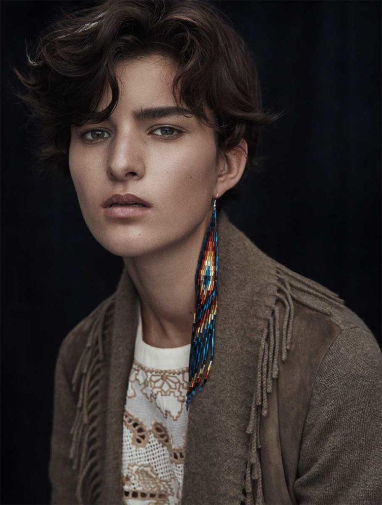 Amica magazine photographer Luca Bellumore make-up Roman Gasser