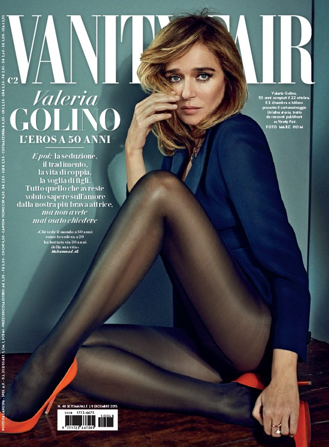 Vanity Fair make-up Sissy Belloglio Valeria Golino
