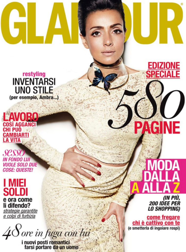 Glamour manicure Annie Ghizzoni cover