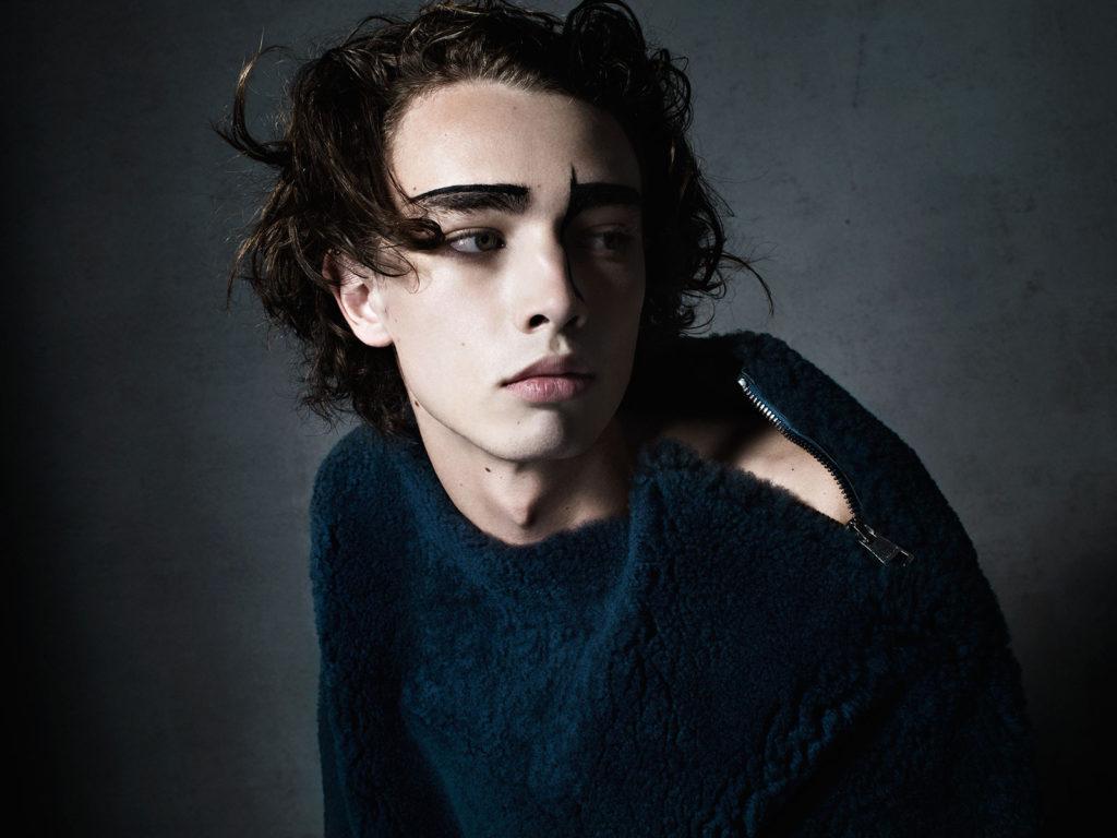Fred photographer Nicola De Rosa make-up Roman Gasser