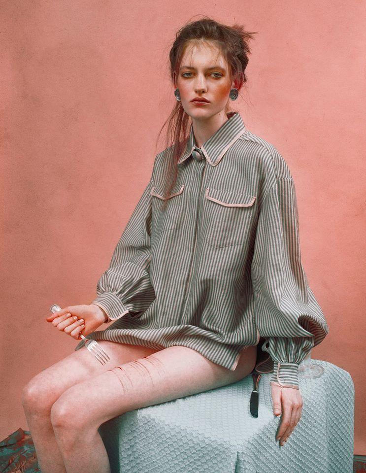 Lampoon magazine photographer Marwane Pallas make-up Sissy Belloglio