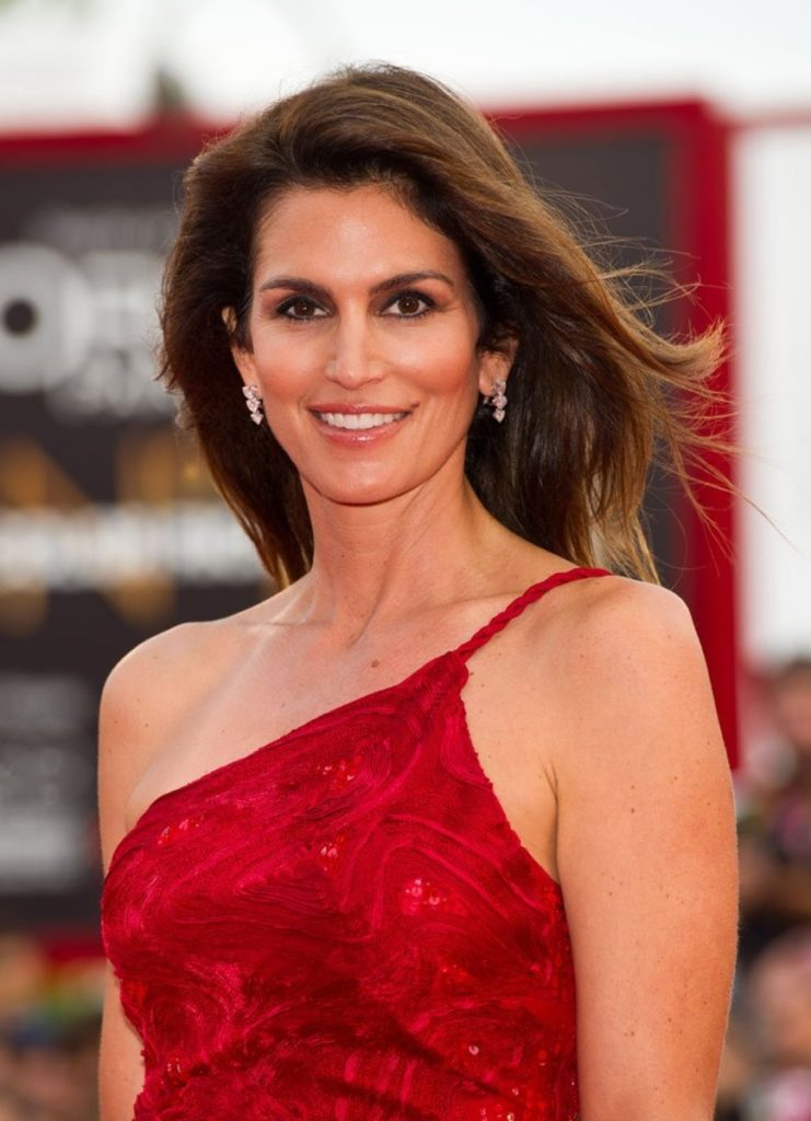 Festival di Venezia Cindy Crawford make-up Silvana Belli