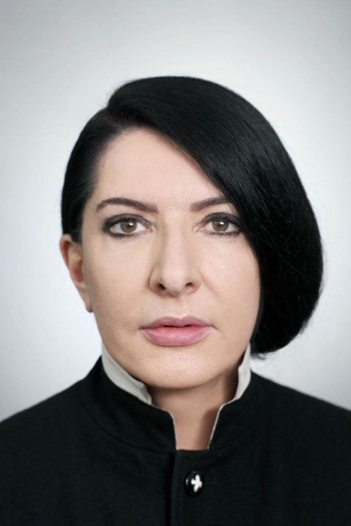 Marina Abramovic make-up Silvana Belli