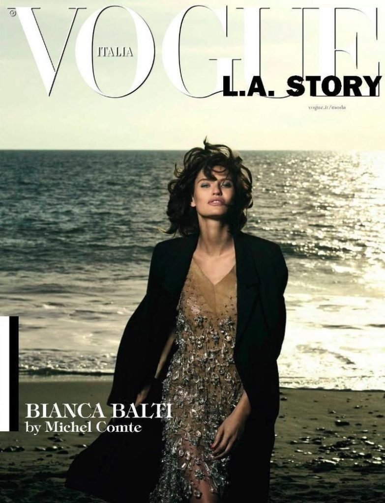 Vogue Italia styling Giulio Martinelli Bianca Balti