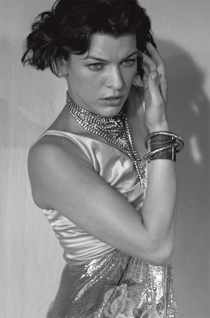 Vogue Italia styling Giulio Martinelli Milla Jovovich