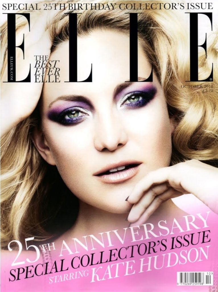 Elle UK Kate Hudson manicure cover